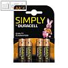 Details zu Duracell Batterie simply,...