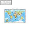 Details zu Stiefel Weltkarte politis...