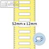 Details zu Rollenetiketten - 52x12 m...