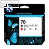 Details zu HP Druckkopf Nr. 70, schw...
