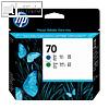Details zu HP Druckkopf Nr. 70, blau...