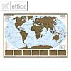 Details zu Weltkarte zum Freirubbeln...