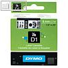 Details zu Dymo D1 Etikettenband, 6 ...