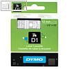 Details zu Dymo D1 Etikettenband, 12...
