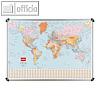 Details zu Weltkarte, politisch, 124...