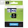 Details zu Dymo D1 Schriftband, 24mm...
